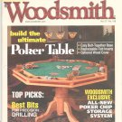 Woodsmith Magazine Back Issue Poker Table Volume 27 Number 158 April May 2005