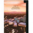 Circus Maximus Showroom Brochure Caesars Palace Las Vegas Advertising Julio Iglesias
