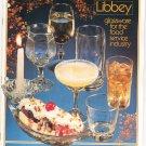 Libbey Glassware Catalog Vintage 1982
