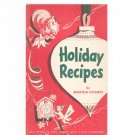 Vintage The Holiday Book Cookbook Peoples Gas Light And Coke Company 1952