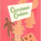 Christmas Cookies Cookbook Plus by Wisconsin Electric Power Company Vintage Item