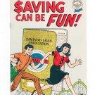 Vintage Saving Can Be Fun Comic Book Saving & Loan Association 1968