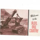 Vintage Welcome To The Minnesota's Iron Ore Country Oliver Iron Mining USS