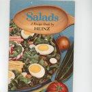 Vintage Salads A Recipe Book By Heinz Cookbook 1956