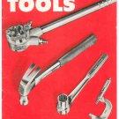 Vintage Craftsman Tools Catalog 1957 Sears Roebuck & Company