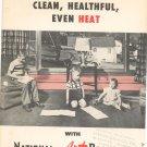 Vintage National Radiator Company National Art Baseboard Heat Brochure
