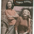 Vintage Fleisher's Campus Classics Volume 82 1947 Sweaters Plus