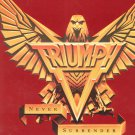 Triumph Never Surrender World Tour 1983 Souvenir Program