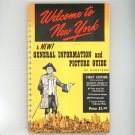 Vintage Welcome To New York Travel Guide by Hagstrom 1960 With Color Subway Map