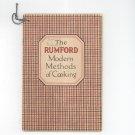 Vintage Rumford Modern Method Of Cooking Cookbook