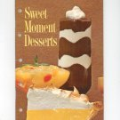 Sweet Moment Desserts Cookbook Vintage 1963 First Printing General Foods Jello Dream Whip