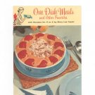 Vintage One Dish Meals And Other Favorites Cookbook Pet Milk 1956