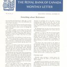 Vintage The Royal Bank Of Canada Monthly Letter 1967 Lot Of 12