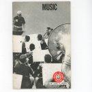 Vintage Music Boy Scouts Of America Merit Badge Series 1971 BSA