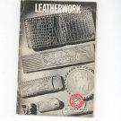 Vintage Leatherwork Boy Scouts Of America Merit Badge Series 1972 BSA