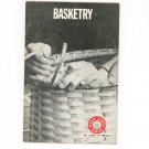 Vintage Basketry Boy Scouts Of America Merit Badge Series 1971 BSA