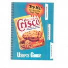 Crisco Butter Flavor Recipe Pamphlet User's Guide