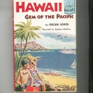 Hawaii Gem Of The Pacific by Oscar Lewis Landmark Book 49 Vintage Hard Cover With Dust Jacket