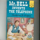 Mr. Bell Invents The Telephone by K. Shippen Landmark Book 30 Vintage Hard Cover With Dust Jacket