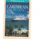 Holland America Line Caribbean Cruises Cruise Ship Large Advertising Postcard