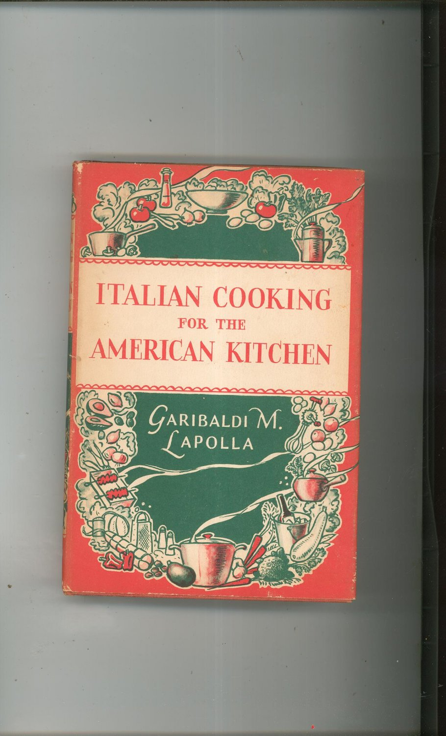 Italian Cookbook Cover : Vintage italian cooking for the american kitchen cookbook