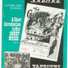 Vintage The Antiques Journal October 1968 Tapestry Through All The Ages Sheet Music