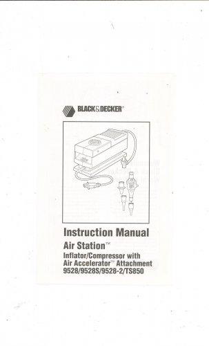 Black and decker airstation manual.