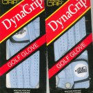 Master Grip Dynagrip Golf Glove Men's Left Small Lot Of 2 Cabretta Leather