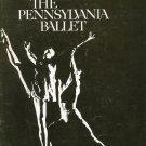 Vintage The Pennsylvania Ballet Souvenir Program With Insert 1969