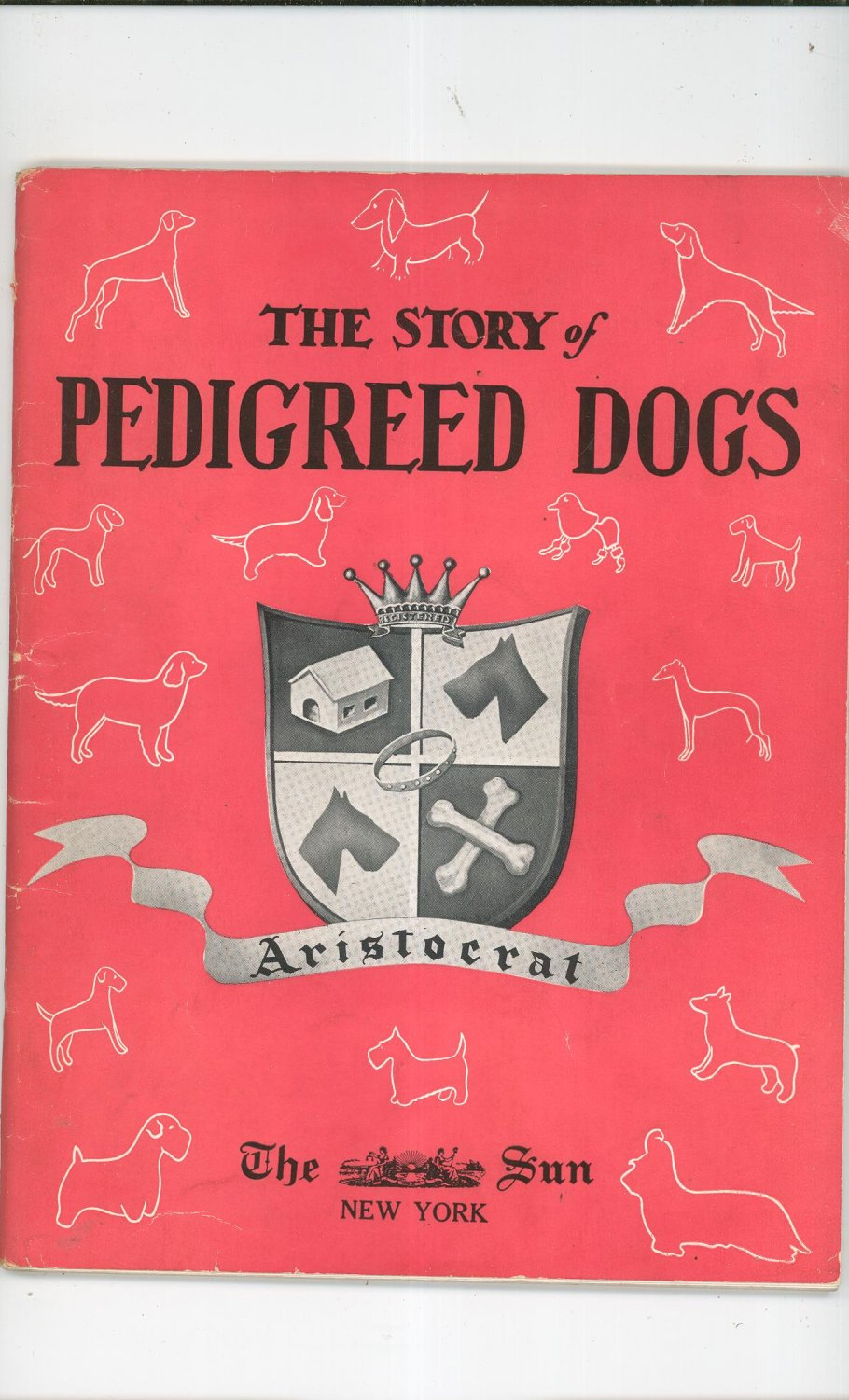 Vintage The Story Of Pedigreed Dogs by Arthur Roland The ...