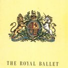 Vintage The Royal Ballet Sir David Webster Presents Souvenir Program