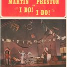 Vintage Mary Martin Robert Preston In I Do! I Do! Souvenir Program New Musical Hit