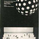 Dance Magazine April 1965  Vintage Nureyev  Agnes de Mille