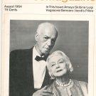 Dance Magazine August 1964 Vintage Amaya Skibine Luigi Plus