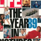 Life Magazine January 1990 Special Issue 1989 The Year In Pictures Back Issue
