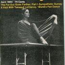 Dance Magazine April 1964 Vintage Lucinda Childs Tanaquil Le Clercq