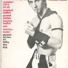 Dance Magazine October 1973 Vintage Daniel Levins As Billy The Kid