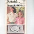 Butterick Elegant Embroidery Pattern Number 5496