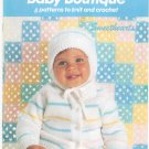 Bernat Baby Boutique 8 Patterns To Knit & Crochet Book Number 520