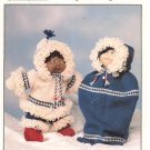 Patons Canadiana Snug As A Bug Cabbage Patch Kid Clothes Pattern Leaflet 1034
