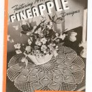 Clark's J P Coats Book 230 14 New Pineapple Designs Doilies Tablecloths Bedspreads Runners