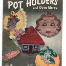 Lily Book 59 Pot Holders and Oven Mitts Vintage