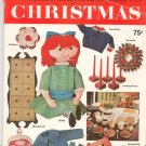 Vintage Woman's Day Best Ideas For Christmas Magazine Number 2 1960