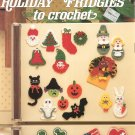 Leisure Arts Holiday Fridgies To Crochet Leaflet 328 by Betty Waldbieser