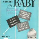 Vintage Knit And Crochet For Baby Book Number 12 Zelta Dacron
