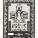 Vintage The A B C Book Of Crocheted Edges And Corners Number 4 Asmus Bradley