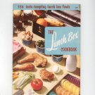 The Lunch Box Cookbook by Culinary Arts Institute 105 Vintage Item