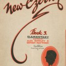 The New Czerny Book Number 3 Elementary Rowley & Haywood Vintage