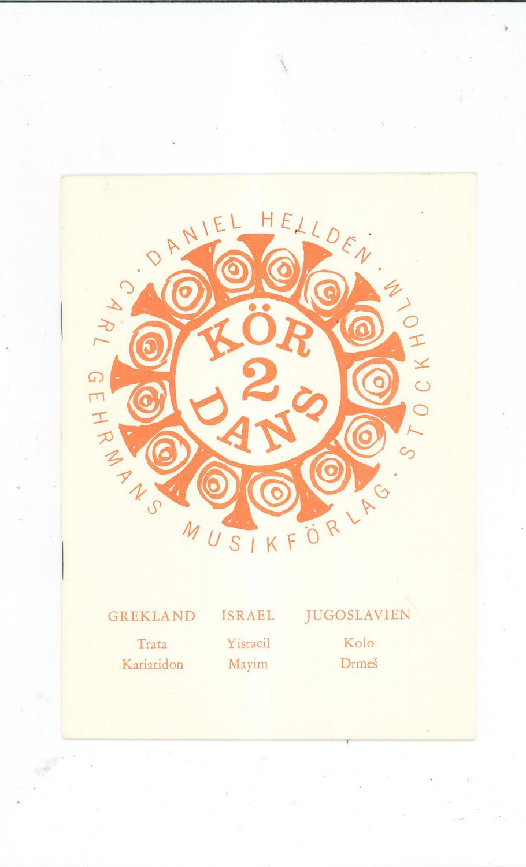 Daniel Hellden Kordans 2 Music Book Vintage