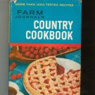 Farm Journal's Country Cookbook Deluxe Edition Vintage Hard Cover With Dust Jacket